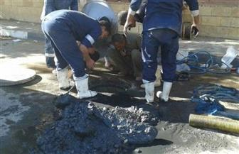 تطهير شبكات الصرف وندوات للتوعية ضمن فعاليات الأسبوع المائي بقرية صفط الخمار بالمنيا