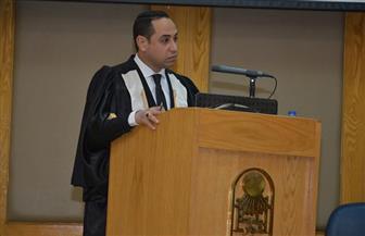 رسالة دكتوراه بحقوق أسيوط توصي بإجراء تعديلات على القانون النووي والاهتمام به في كليات القانون | صور