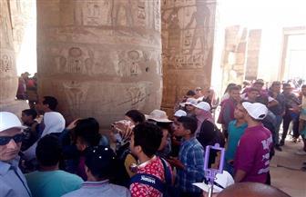 طلائع برلمان مصر في زيارة لمعبدي حتشبسوت وهابو بالأقصر |صور