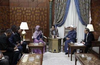 وزيرة الصحة الصومالية: لن ينسى وقوف الأزهر إلى جانبه وقت الشدائد