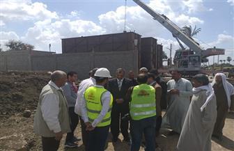 انطلاق مبادرة بيئة آمنة ونظيفة للتوعية بالتعامل الأمثل مع شبكات الصرف الصحي في بني سويف   صور