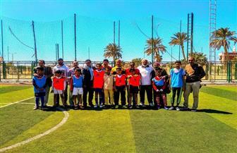 فوز فريق مدرسة الزعيم السادات ببطولة دوري مدارس طور سيناء | صور