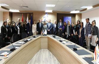 """بحضور مايا مرسي وسفراء الدول.. احتفالية شراكة """"القومي للمرأة"""" والاتحاد الأوروبي   صور"""