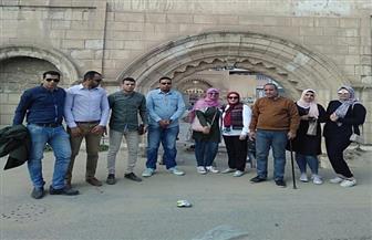 وفد من طلاب كلية الآداب جامعة طنطا يزور آثار فوه الإسلامية| صور
