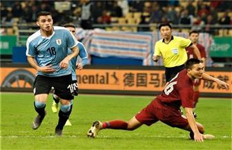 أوروجواي تسحق تايلاند برباعية وتحتفظ بلقب بطولة الصين الودية