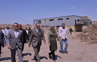 محافظ أسيوط يتفقد مصنع السماد العضوي بقرية المنشأة الكبرى بالقوصية | صور