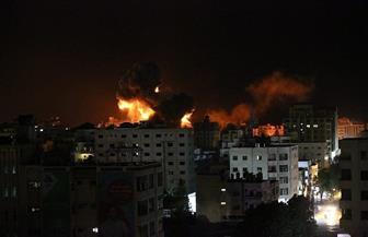 إصابات وتدمير مواقع في سلسلة غارات للاحتلال على قطاع غزة | صور