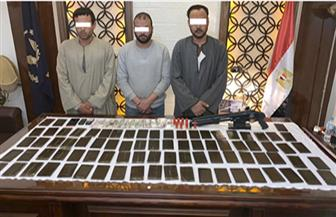 ضبط عصابة مخدرات القليوبية وبحوزتهم أكثر من 8 كيلوجرامات حشيش