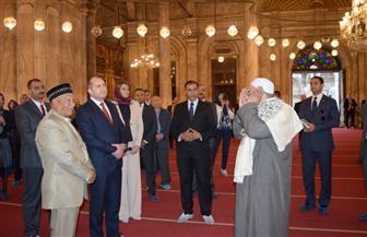 الرئيس البلغاري يزور قلعة صلاح الدين والمتحف المصري بالتحرير | صور