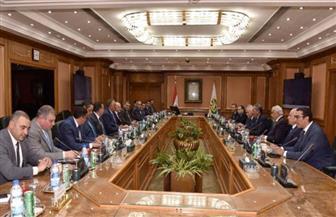رئيس الرقابة الإدارية يلتقي رئيس مجلس إدارة غرفة التجارة الأمريكية بمصر