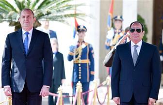 الرئيس السيسي ونظيره البلغارى يبحثان سبل تعزيز العلاقات الاقتصادية بين البلدين صور
