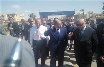 وزير التنمية المحلية ومحافظ القاهرة يتفقدان إستادي الإنتاج الحربي والقاهرة   صور