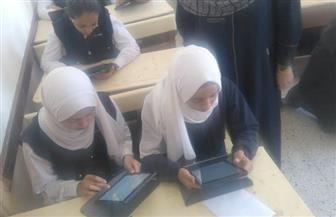 وكيل التعليم بسوهاج: انتظام أداء امتحان اللغة الفرنسية التجريبي لطلاب الصف الأول الثانوى   صور
