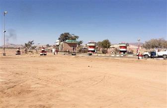 جنوب سيناء تنفذ تدريبا عمليا لنجدة حقل بترول يتعرض لهجوم إرهابي | صور