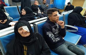 """86 عملية جراحية لمرضى العيون في قافلة طبية لـ""""مستقبل وطن"""" بالصف"""