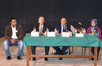 صالون ثقافي بجنوب سيناء يناقش أهمية قطاعي التعليم والصحة للمواطنين | صور