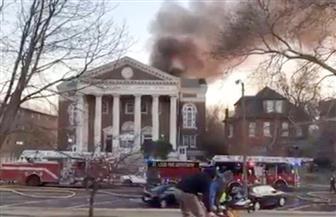 حريق كبير في متحف سانت لويس للوثائق النادرة في الولايات المتحدة | صور