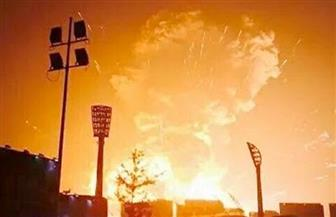 انفجار في مستودع ذخائر من الحرب العالمية الثانية في إندونيسيا
