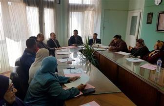 كلية الاقتصاد المنزلي جامعة حلوان تضع خطة لخدمة المجتمع وتنمية البيئة المحيطة بها   صور