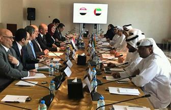 اللجنة القنصلية المصرية - الإماراتية المشتركة تبحث ملفات التعاون الثنائي |صور