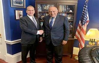 سامح شكري يلتقي عضو لجنة الاعتمادات بمجلس النواب الأمريكي