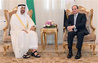 للمرة العاشرة.. ولي عهد أبو ظبي في زيارة رسمية لمصر.. والعلاقات المصرية ـ الإماراتية نموذج يحتذى