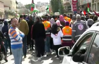 اللحظات الأخيرة للشهيد الفلسطيني الذي لقى حتفه وهو ينطق الشهادة   فيديو
