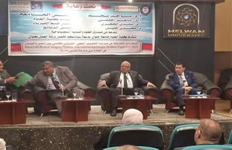 التبادل العلمي بين مصر واليابان ورشة عمل بكلية العلوم جامعة حلوان  صور