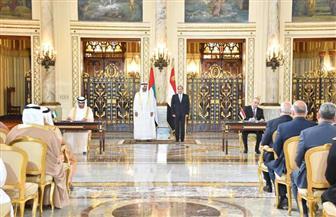 تفاصيل مذكرات التفاهم التى وقعها الرئيس السيسي وولى عهد أبوظبى في قصر رأس التين / صور