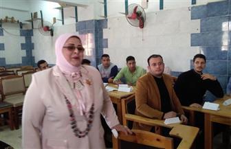 وكيلة تعليم كفرالشيخ تتفقد قاعات تدريب المدرسين المؤقتين