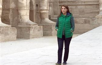 ماجدة الرومي تزور مناطق أثرية وسياحية في الأقصر | صور