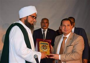 """رئيس جامعة بورسعيد يفتتح ندوة """"عندي سؤال"""" للحبيب علي الجفري"""