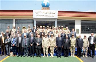 """القوات المسلحة تنظم زيارة لوفد من """"النواب"""" لإدارة التجنيد والتعبئة"""