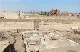 الكشف عن البهو الملكي للفرعون رمسيس الثاني وأحجار تأسيس معبده بأبيدوس | صور