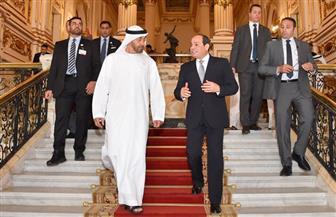 المتحدث الرئاسي ينشر صور جولة الرئيس السيسي وولى عهد أبو ظبى بقصر رأس التين بالإسكندرية