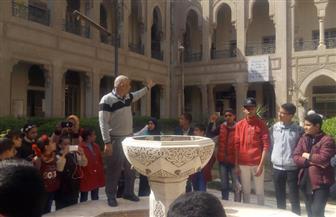 مركز بهاء الدين يبدأ أولى رحلاته السياحية لطلاب صدفا بأسيوط  صور