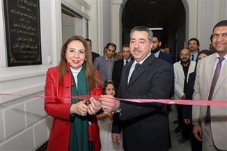 افتتاح أعمال تطوير مكتب شهر عقاري جنوب القاهرة | صور