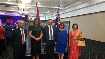 وزيرة الهجرة تلتقي سفراء وممثلين للجاليات والحكومة الأسترالية