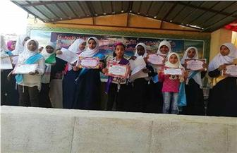 تكريم حافظات القرآن الكريم بمعهد فتيات البياضية الأزهري بالأقصر | صور