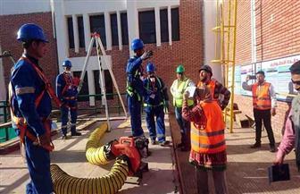 محطة مياه نيدة بسوهاج تحصل على الشهادة الدولية في الإدارة الفنية المستدامة| صور