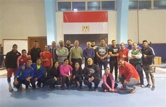 بعثة المنتخب الوطنى لرفع الأثقال تنتظم فى معسكر أذربيجان استعدادا للبطولة الإفريقية