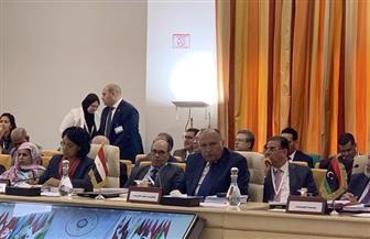 سامح شكرى يشارك باجتماع وزراء الخارجية العرب بتونس
