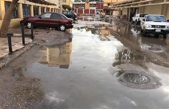 أمطار غزيرة علي كفرالشيخ وتوقف الصيد في البرلس والمزارع السمكية | صور
