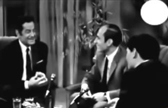 في حوار نادر.. العندليب يداعب فريد الأطرش خلال لقاء المصالحة على الهواء| فيديو
