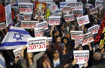 """تصفه بـ""""وزير الجريمة"""".. مظاهرات في إسرائيل تطالب نتنياهو بالاستقالة"""