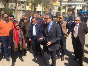 وزيرالآثار يتفقد مشروع مقابر كوم الشقافة بالإسكندرية بعد تطويره   صور