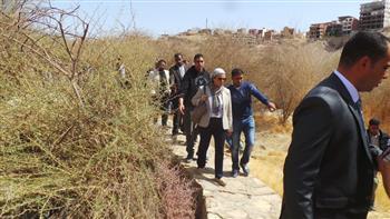 وزيرة البيئة تتفقد تطوير الحديقة الاستوائية الدولية في أسوان