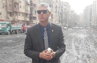 رئيس حي المعصرة يكشف إجراءات معالجة هبوط التربة في عقار شارع الوكيل