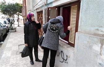 """""""مستقبل وطن"""" يوزع شنط مواد غذائية مجانية للأسر الأكثر احتياجا ببورسعيد"""