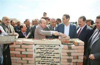 محافظ كفرالشيخ يضع حجر الأساس لمرور الرياض النموذجي الجديد بتكلفة 26 مليون جنيه | صور